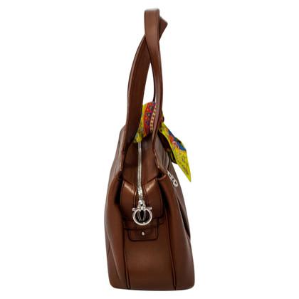 Salvatore Ferragamo Klassieke Gancio Bag / hand tas
