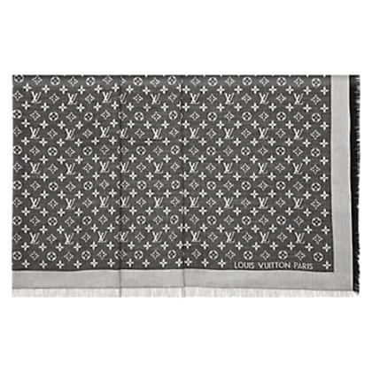 Louis Vuitton Scialle Monogram Nero Denim