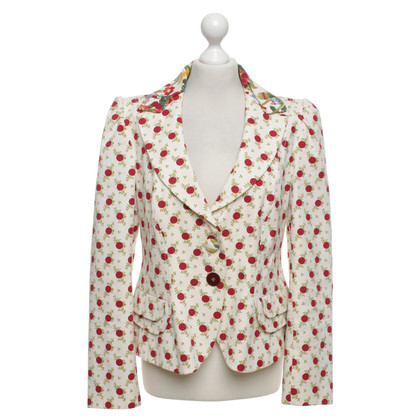 Kenzo Blazer with a floral pattern
