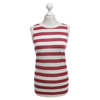 Carolina Herrera Silk top with striped pattern