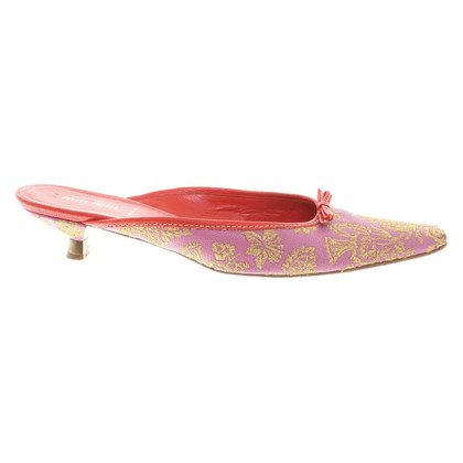 Miu Miu Slingbacks in roze