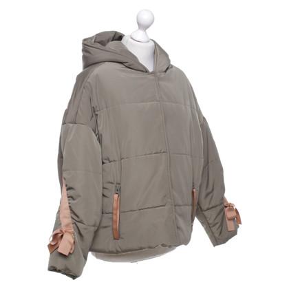 Maje Winter jacket in khaki