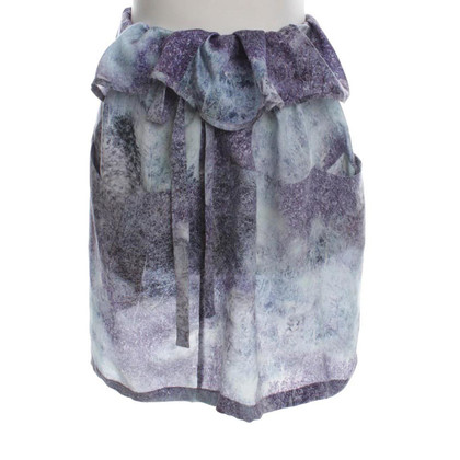 Other Designer Christian Wijnants - silk skirt with print
