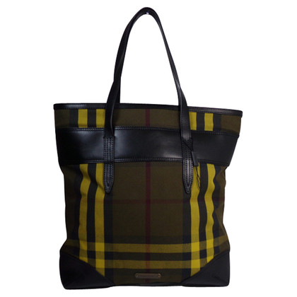 Burberry Shopper a scacchi