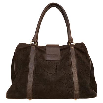 Dolce & Gabbana Handtasche aus Wildleder