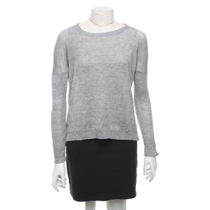 Hartford Sweater in gemêleerd grijs