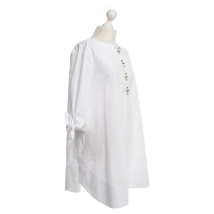 Schumacher Shirt Dress in White