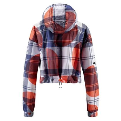Stella McCartney for Adidas Running jacket with plaid pattern