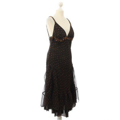 Hugo Boss Silk dress with dots