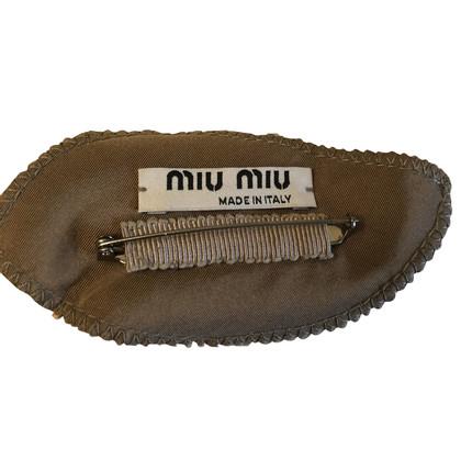 Miu Miu brooch