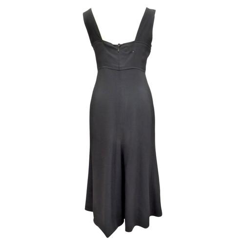 the latest f2234 aef65 Chanel maxi vestito con gonna svasata - Second hand Chanel ...