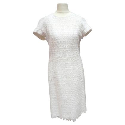 Chanel Weißes Baumwollkleid