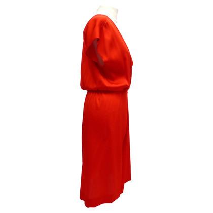 Diane von Furstenberg Wrap zijden jurk