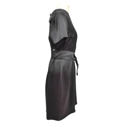 Prada Silk dress with appliques