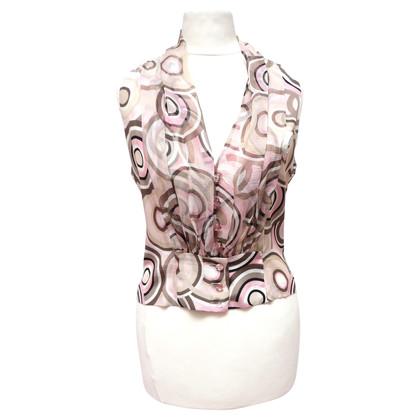 Chanel Camicia con collo a scialle