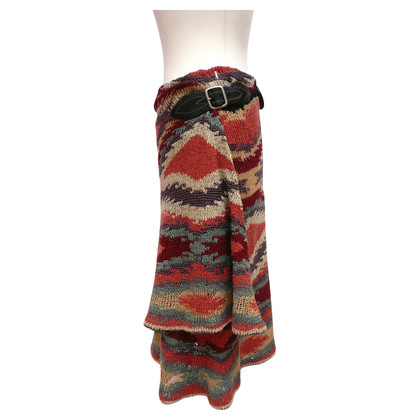 Ralph Lauren Knitting skirt with ethnic patterns