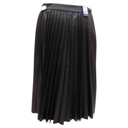 Prada Leather skirt with pleats
