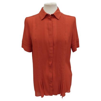 Belstaff Zijden blouse met plooien