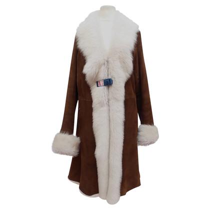 Furry Classic lambskin coat