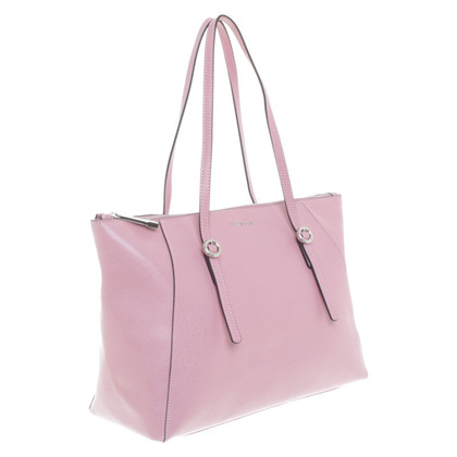 Coccinelle Shoppers in blush pink