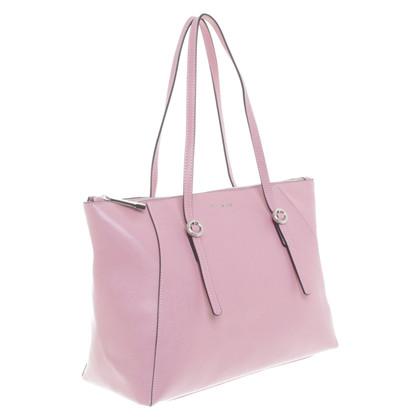 Coccinelle Shopper in rosa antico