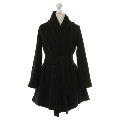 Vivienne Westwood Black coat with Mandarin collar