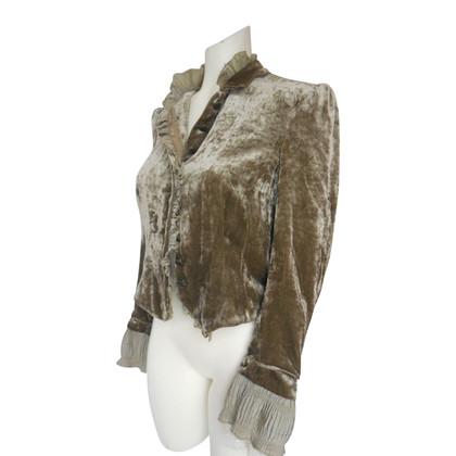 Schumacher velvet jacket