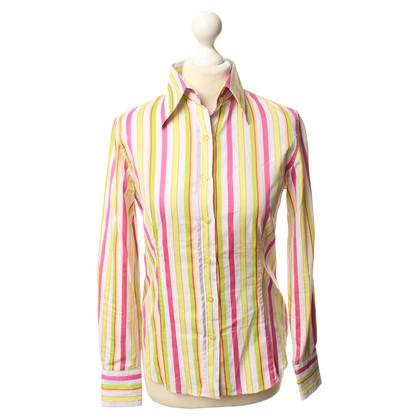 Etro Cotton blouse with stripe pattern
