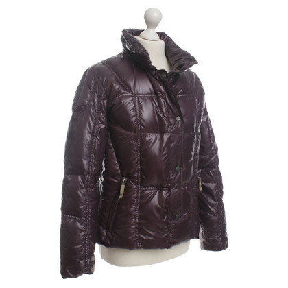 Airfield Down jacket in Auberginefarben