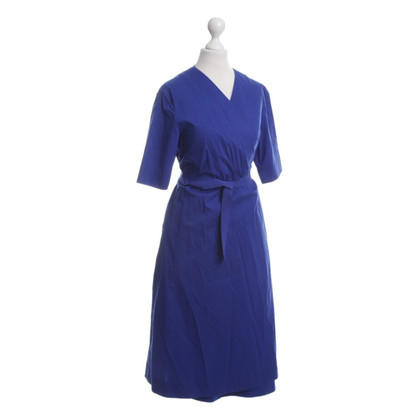 Cos Wrap dress in Royal Blue