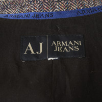 Armani Jeans Blazer mit Webmuster