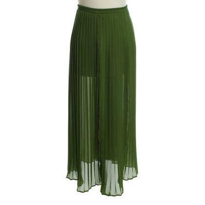 Michael Kors Geplooide rok in het groen
