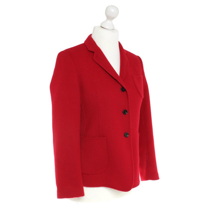 Strenesse Wool blazer in het rood