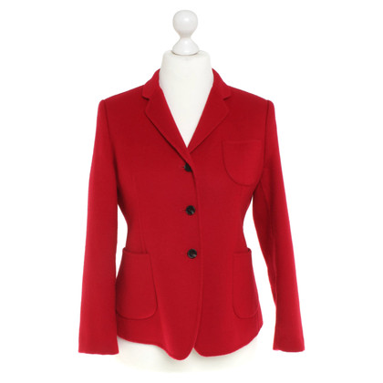 Strenesse Lana giacca sportiva in rosso