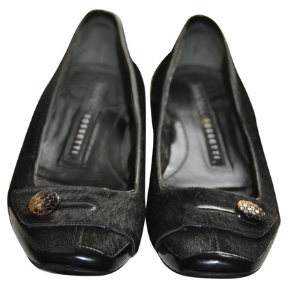 Fratelli Rossetti Ballerinas with bangs Fellbesatz