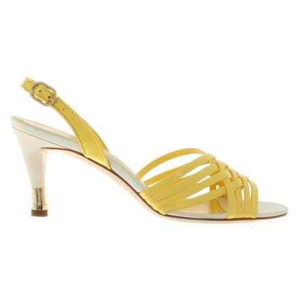Chanel Infradito in giallo