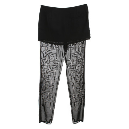 Phillip Lim trousers with sequin trimming