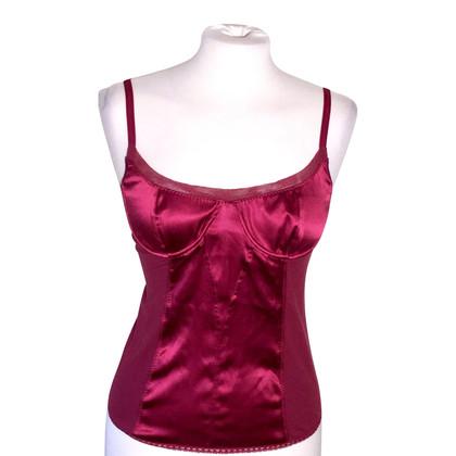 Dolce & Gabbana Top in silk