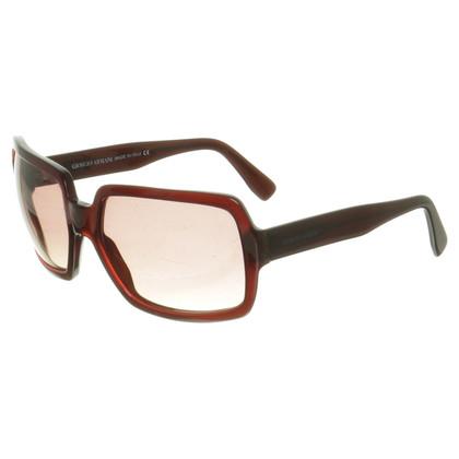 Giorgio Armani Sonnenbrille in Rot