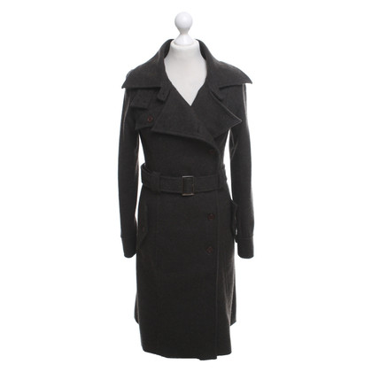 Elie Tahari Wool coat in grey brown