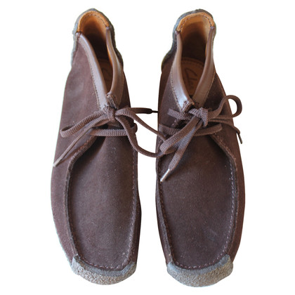 Clarks Wildleder Wallabees