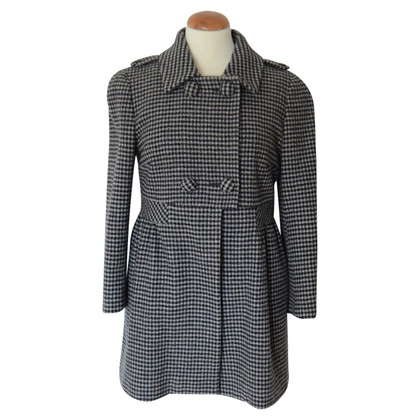 Max Mara Coat met plaid patroon