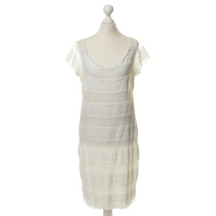 Piu & Piu White lace dress