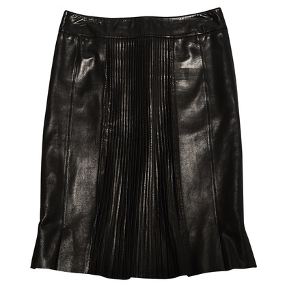Chanel LEATHER PLEATS FR38