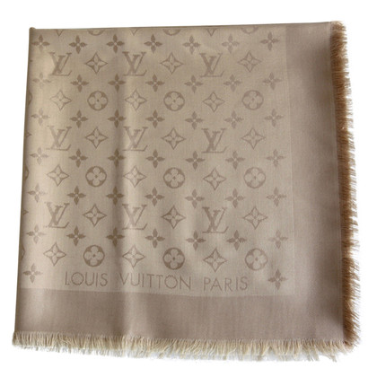 Louis Vuitton panno Monogram in Beige
