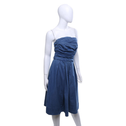 Acne Bandeau-Kleid aus Denim