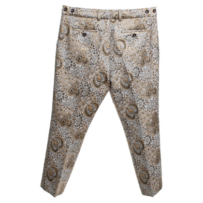 Bogner trousers with jacquard pattern