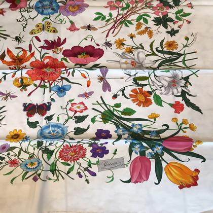 Gucci Foulard in seta flora