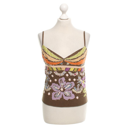 Max Mara Top with pattern
