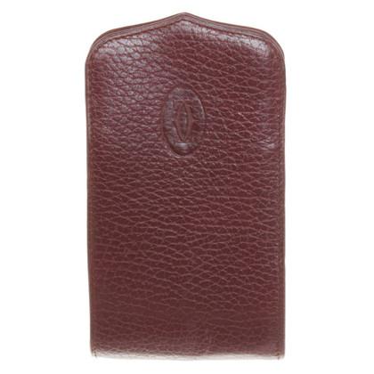 Cartier key holder in Bordeaux